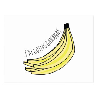 Plátanos que van postales