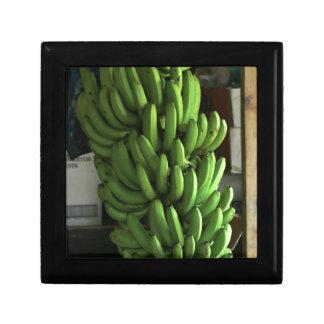 Plátanos verdes cajas de recuerdo
