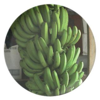 Plátanos verdes plato