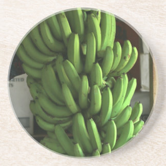Plátanos verdes posavasos cerveza