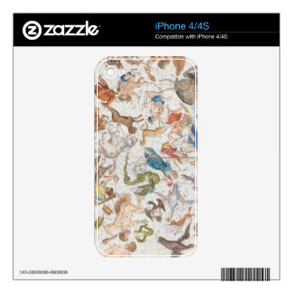 Plate 26 from 'Atlas Coelestis', by John Flamsteed Decal For iPhone 4S