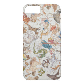 Plate 26 from 'Atlas Coelestis', by John Flamsteed iPhone 8/7 Case