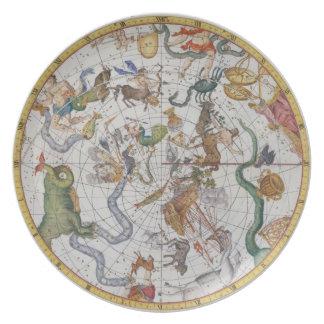 Plate 27 from 'Atlas Coelestis', by John Flamsteed