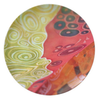 Plate abstract fashion