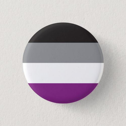 Plate Asexual Flag _ Love is Love Button