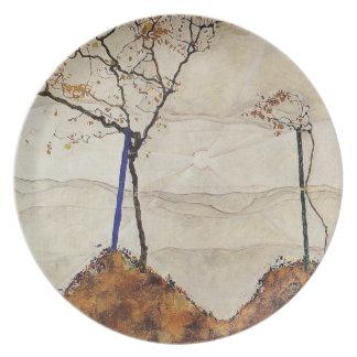 Plate - Autumn Sun