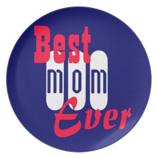 Plate Best Mom Ever