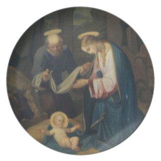 Plate: Birth of Christ Dinner Plate