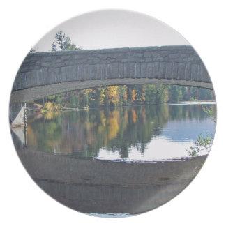 Plate-Bridge Wilmington, NY Plate