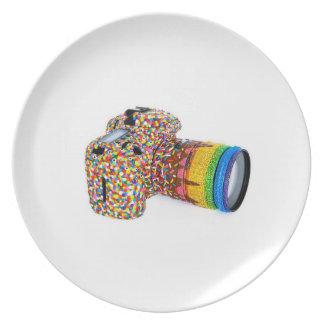 plate, candy camera