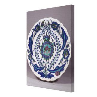 Plate Canvas Print