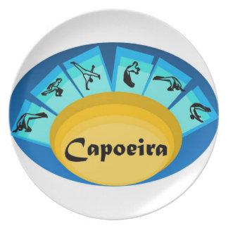 plate capoeira martial arts black belt cordo axe