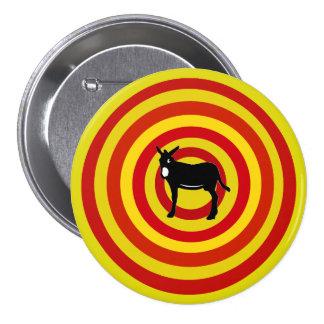 Plate Catalan donkey/Catalan Donkey Badge 3 Inch Round Button