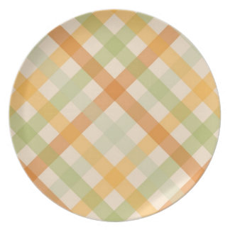 Plate - Checked for Tulip Poplar Tulip