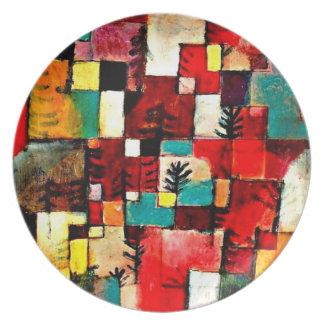 Plate-Classic/Vintage-Paul Klee 9 Dinner Plate