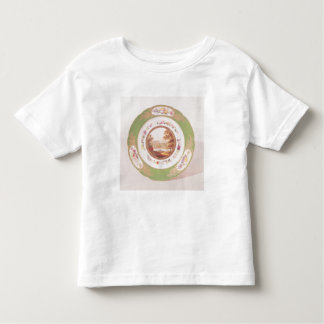 Plate depicting the old Pont de Sevres Toddler T-shirt