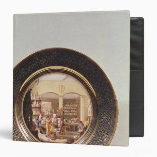Plate depicting the Sevres workshop Binder