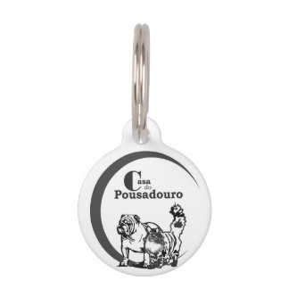 Plate Dog Identification tag