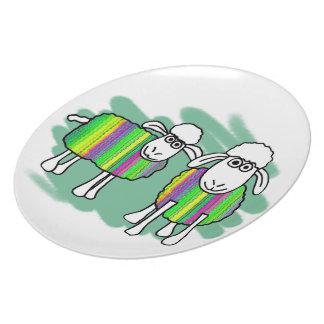 Plate for Ewe
