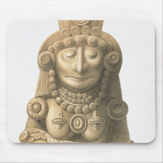 Plate from 'Ancient Monuments of Mexico', 1866 (li Mouse Pad