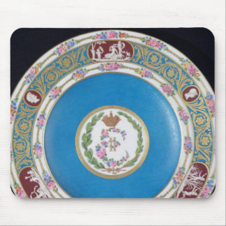 Plate from the service of Empress Catherina II Mouse Pad