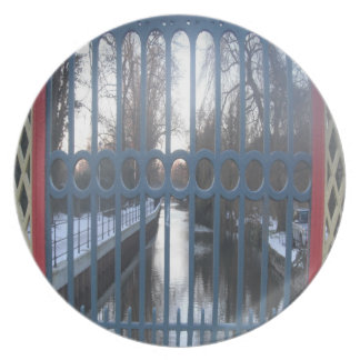 Plate Gated RIver View Thetford UK