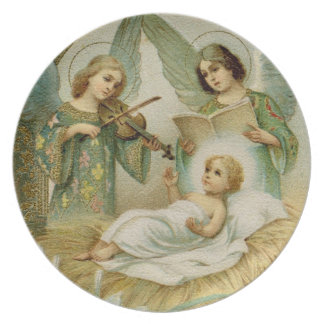 Plate: Gloria in Excelsis Deo Party Plate