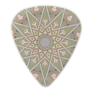 Plate I from 'Studies in Design', c.1874-76 (litho Acetal Guitar Pick
