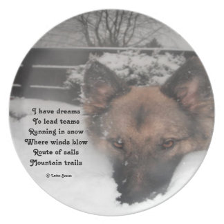 Plate I Have Dreams Poem By Ladee Basset