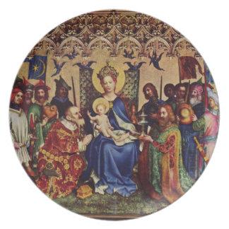 Plate: Interior Pilgrimage Melamine Plate