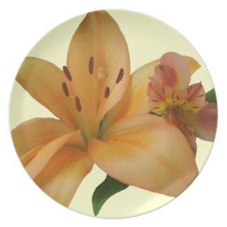 Plate - Lily & Friend (Left-Facing)