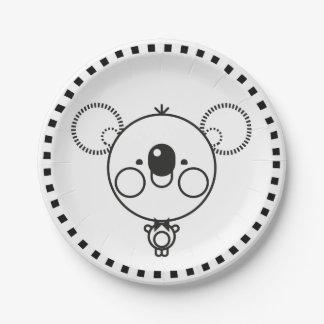 Plate Minimal Koala BN