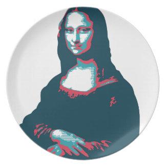 Plate Mona Lisa