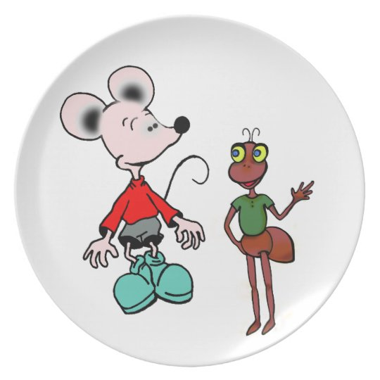 "plate ""mouse and ant"""