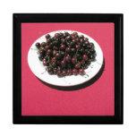 Plate of cherries gift box