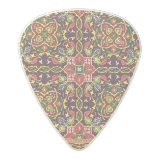 Plate of design for carpets, from 'Industrial Arts Acetal Guitar Pick