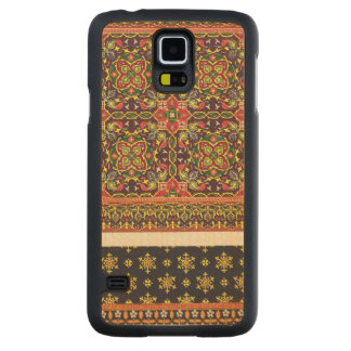 Plate of design for carpets, from 'Industrial Arts Carved Maple Galaxy S5 Case