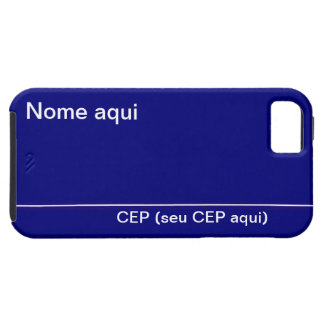 Plate of Name of Street iPhone 5 Case