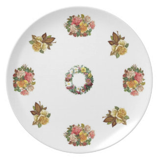 plate of roses