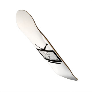 Plate of Skate Arch Search TV 20 cm Skateboard Deck