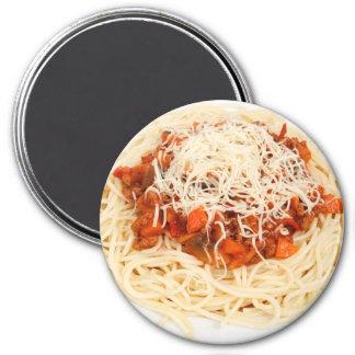 Plate of Spaghetti Dinner Refrigerator Magnet