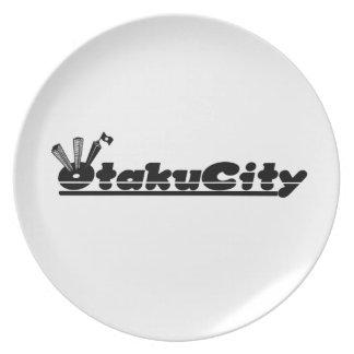 Plate Otaku City