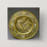 Plate owned by Tsar Alexei Mikhailovich Romanov Pinback Button