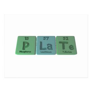 Plate-P-La-Te-Phosphorus-Lanthanum-Tellurium.png Postal