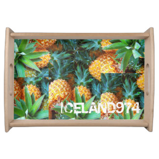 PLATE PETIT-DEJEUNER-ICELAND974 SERVING TRAY