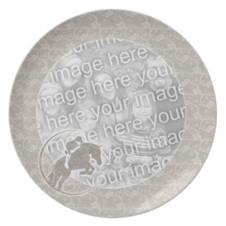 Plate Photo Template - Hunter Jumper Horse