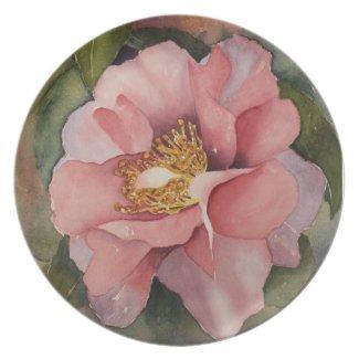 PLATE - Pretty Camellia fuji_plate
