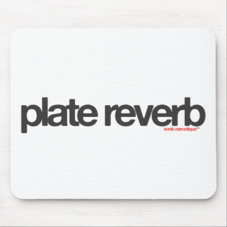 Plate Reverb Mouse Pad