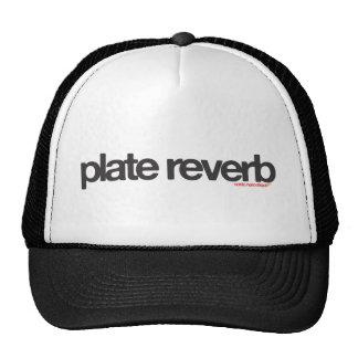 Plate Reverb Trucker Hat