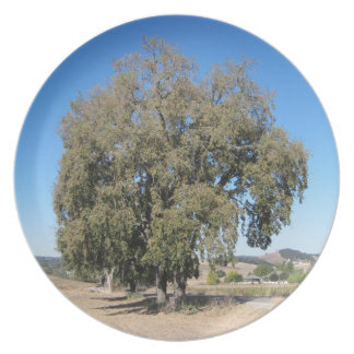 Plate: Rural Oaks in Paso Robles, California Dinner Plate